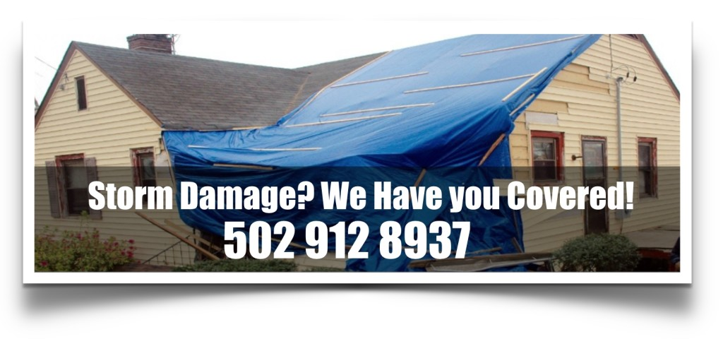 Emergency Storm Damage Repair in Louisville Kentucky